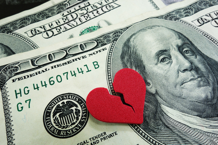 What Does it Cost to Get Divorced in the United States?